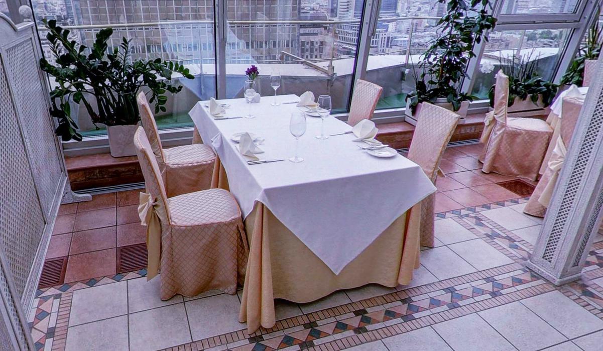 Панорамный Ресторан в гостинице Зимний Сад фото 25