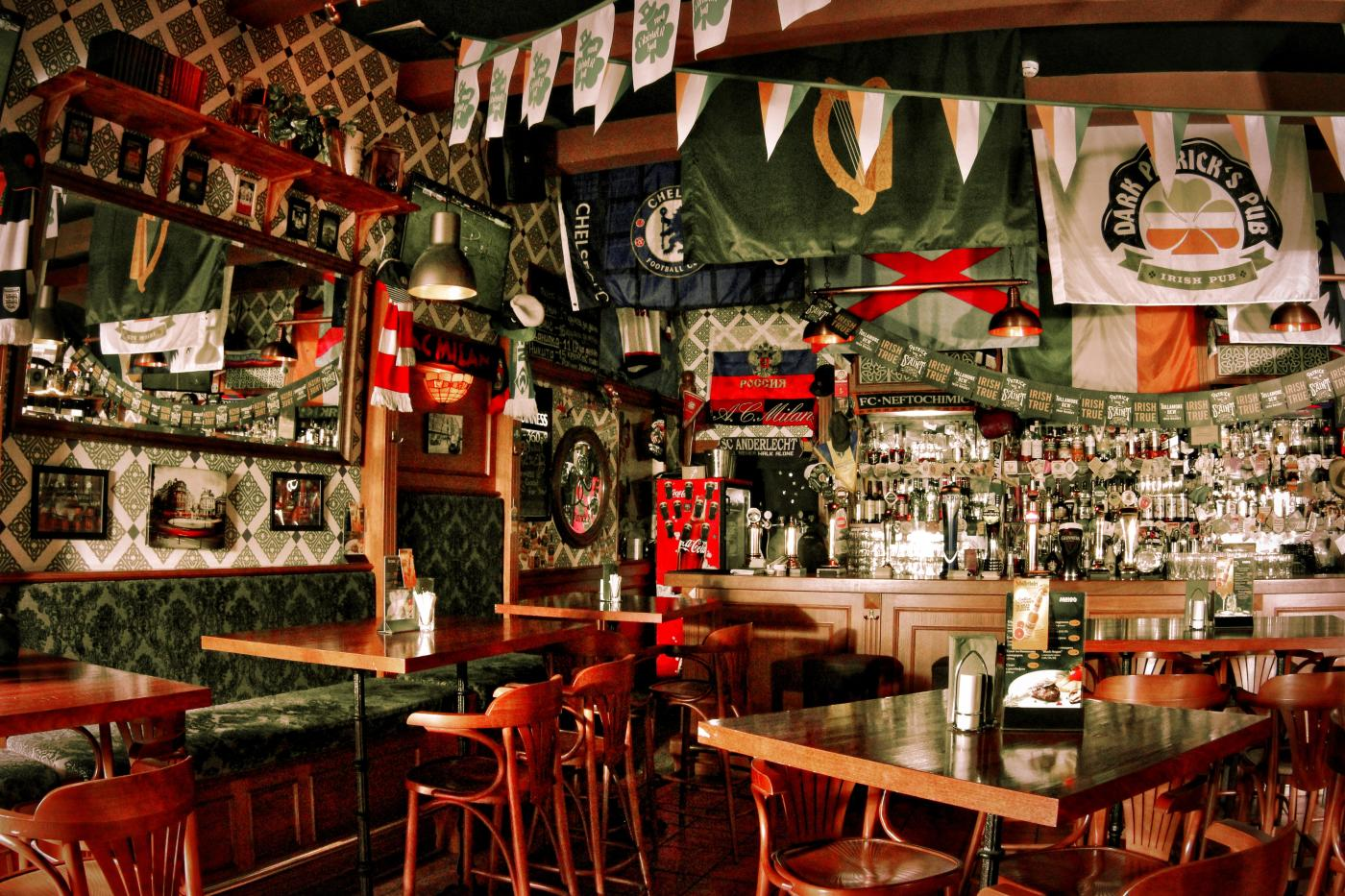 Ирландский Паб Dark Patrick's Pub (Дарк Патрик Паб на Лубянке) фото 1