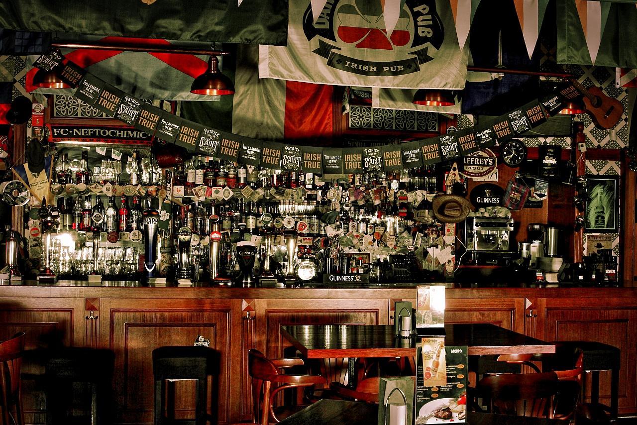 Ирландский Паб Dark Patrick's Pub (Дарк Патрик Паб на Лубянке) фото 9