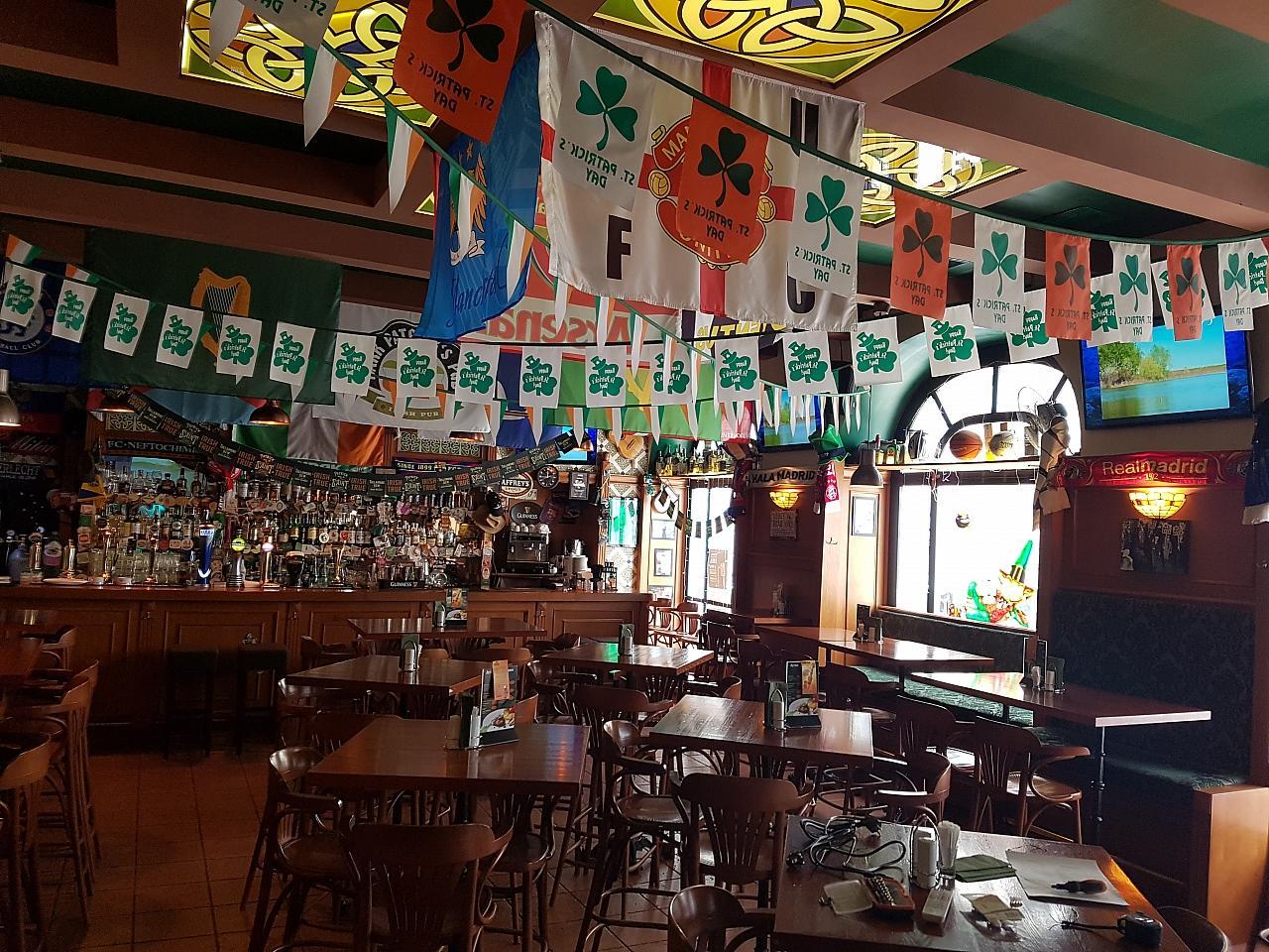 Ирландский Паб Dark Patrick's Pub (Дарк Патрик Паб на Лубянке) фото 16