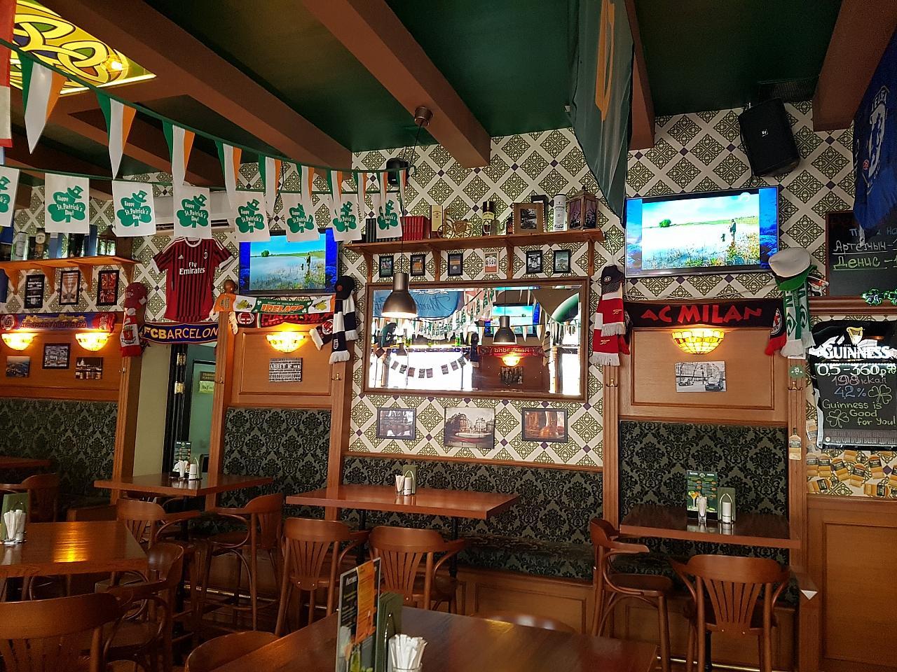 Ирландский Паб Dark Patrick's Pub (Дарк Патрик Паб на Лубянке) фото 17