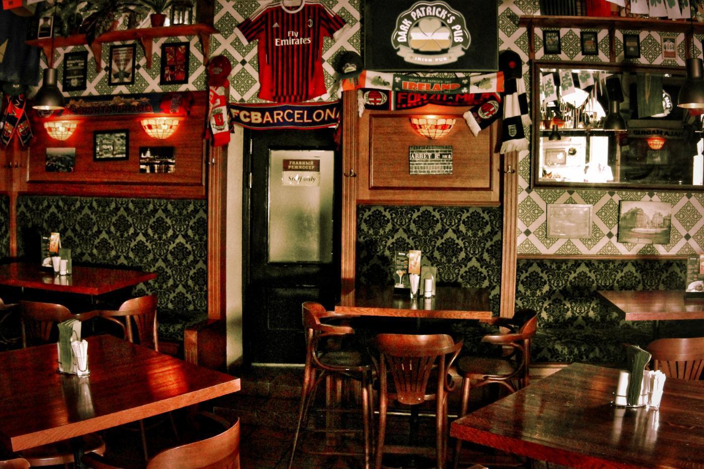 Ирландский Паб Dark Patrick's Pub (Дарк Патрик Паб на Лубянке) фото 23