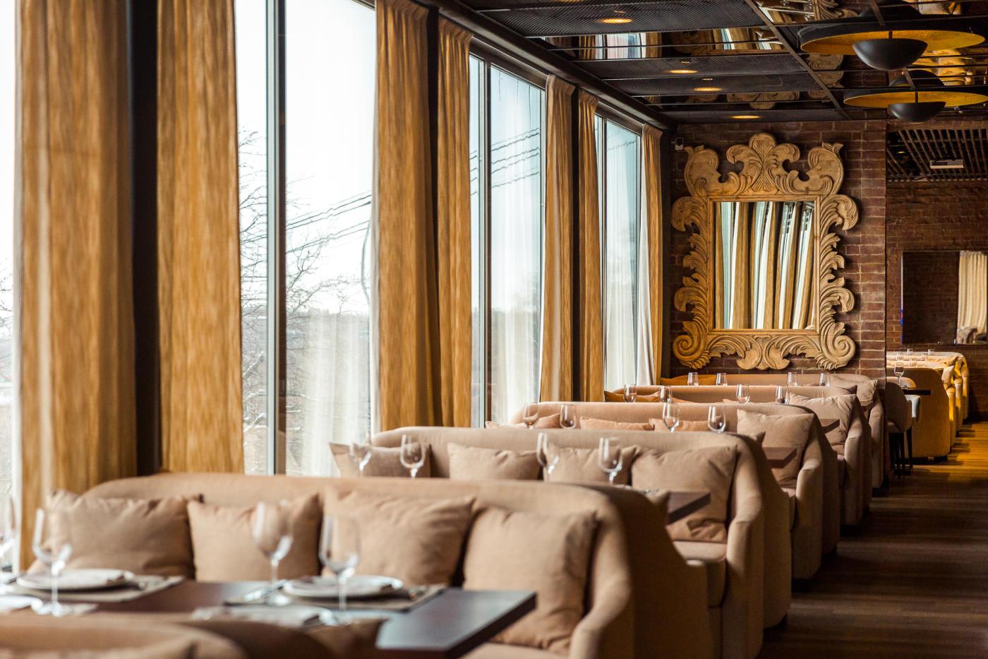 Панорамный Ресторан Трамплин на Воробьевых Горах фото 5