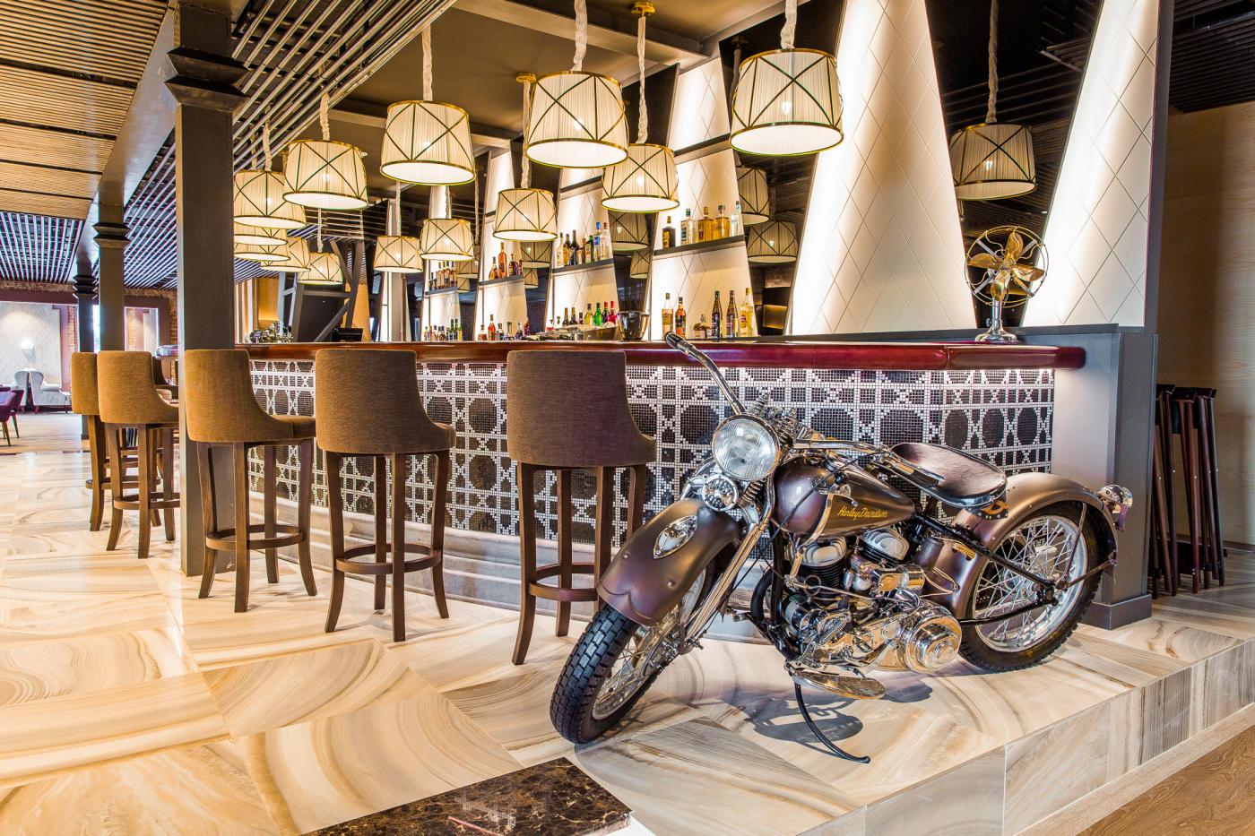 Панорамный Ресторан Трамплин на Воробьевых Горах фото 11