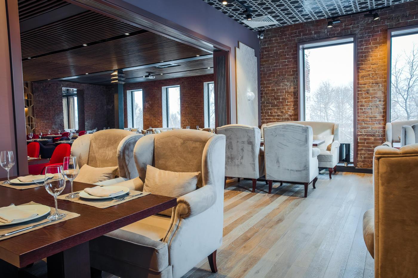 Панорамный Ресторан Трамплин на Воробьевых Горах фото 18
