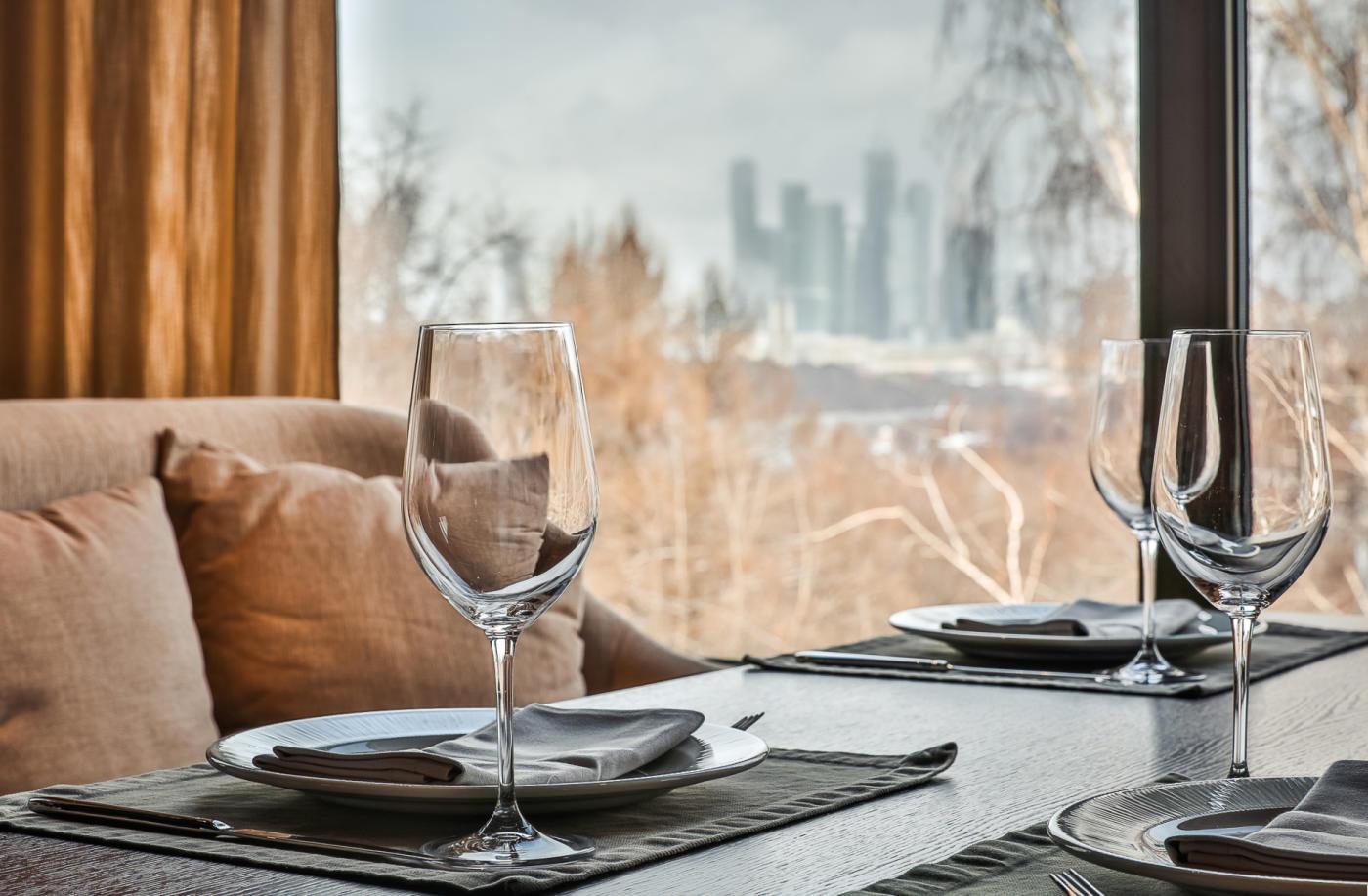 Панорамный Ресторан Трамплин на Воробьевых Горах фото 20