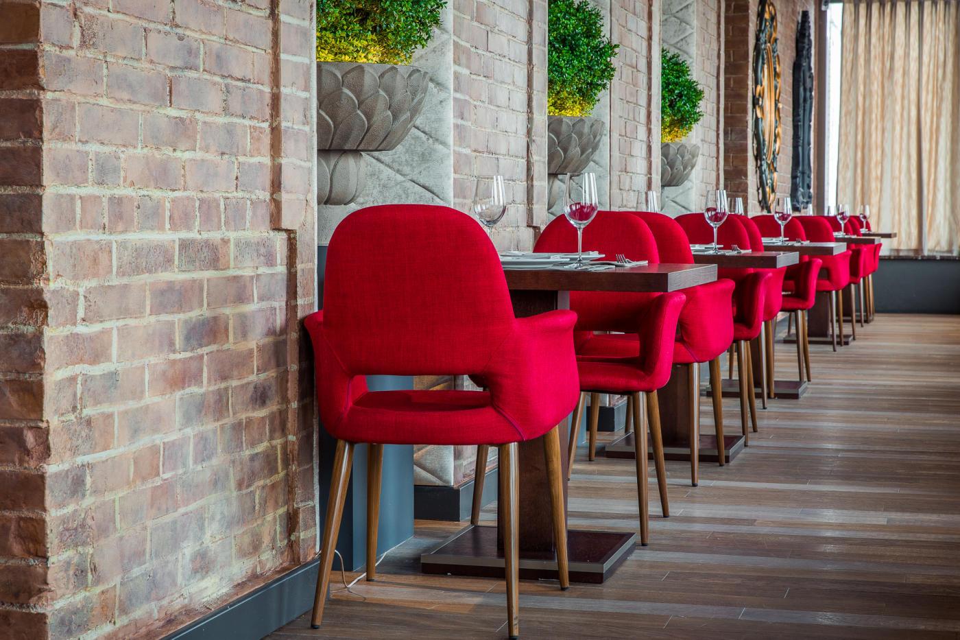 Панорамный Ресторан Трамплин на Воробьевых Горах фото 21