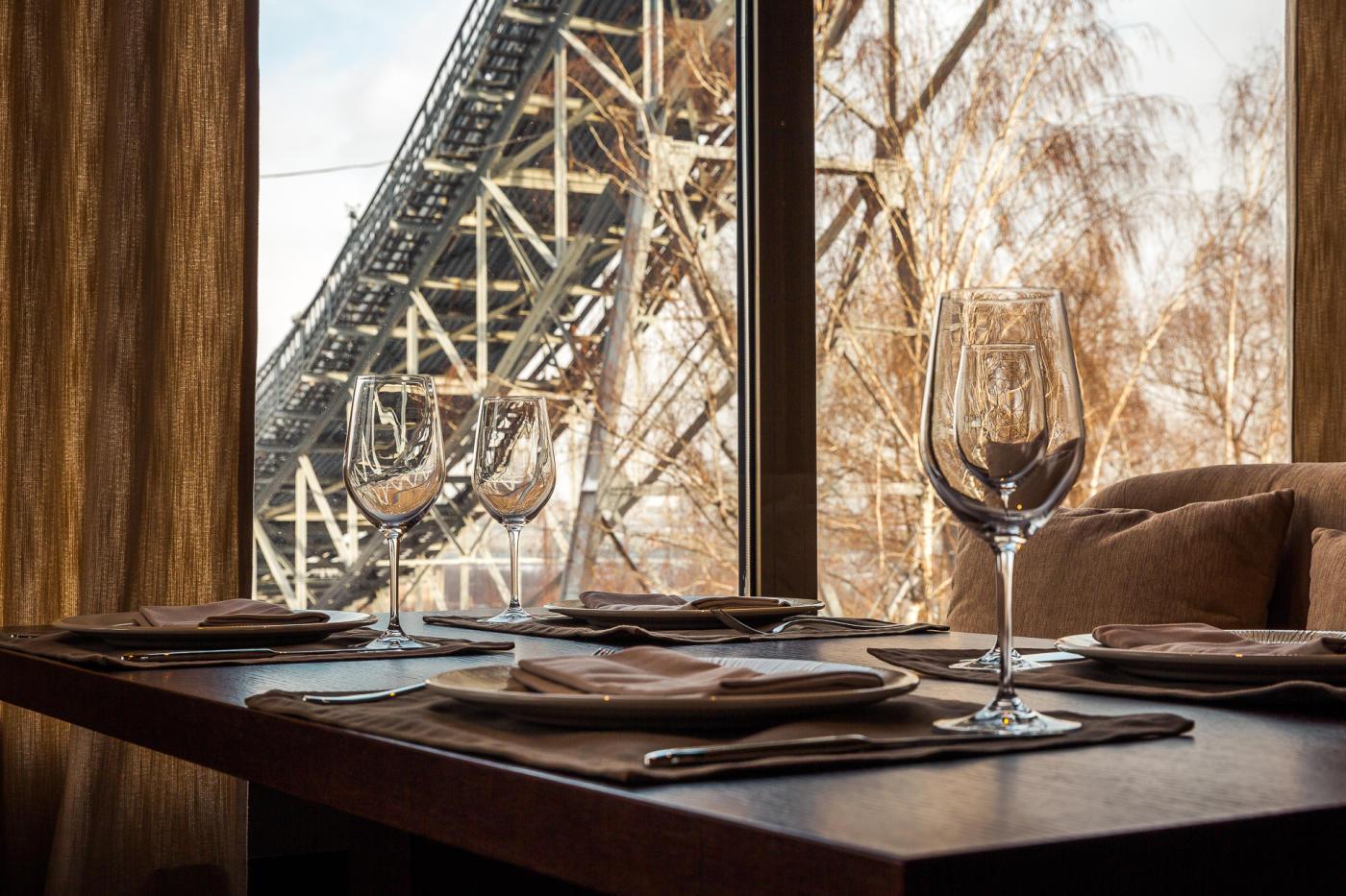 Панорамный Ресторан Трамплин на Воробьевых Горах фото 25