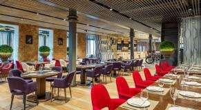 Панорамный Ресторан Трамплин на Воробьевых Горах фото 27