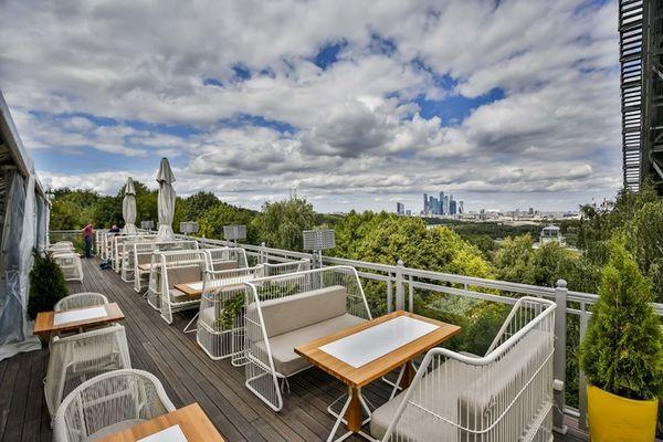 Панорамный Ресторан Трамплин на Воробьевых Горах фото 28