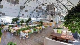 Панорамный Ресторан Трамплин на Воробьевых Горах фото 29