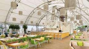 Панорамный Ресторан Трамплин на Воробьевых Горах фото 32