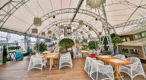 Панорамный Ресторан Трамплин на Воробьевых Горах фото 34