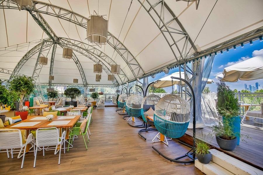 Панорамный Ресторан Трамплин на Воробьевых Горах фото 35