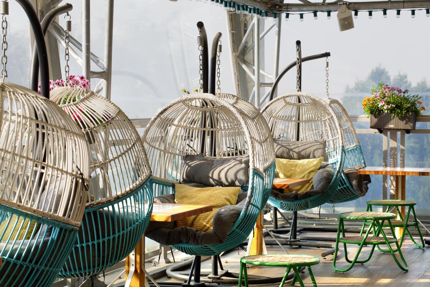 Панорамный Ресторан Трамплин на Воробьевых Горах фото 42