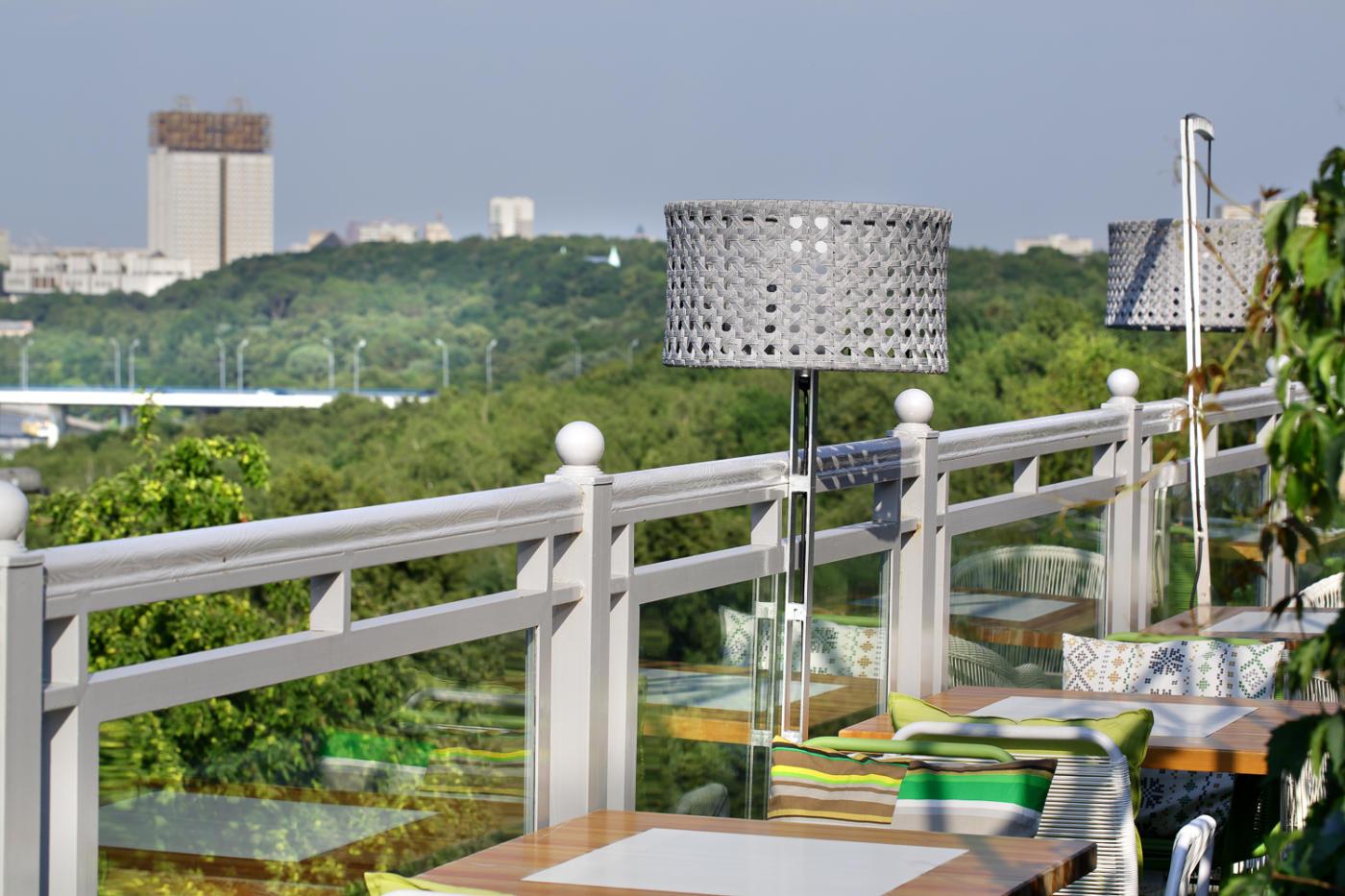 Панорамный Ресторан Трамплин на Воробьевых Горах фото 44