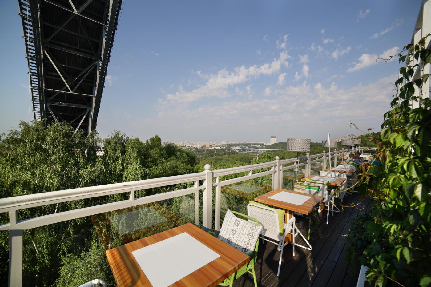Панорамный Ресторан Трамплин на Воробьевых Горах фото 45