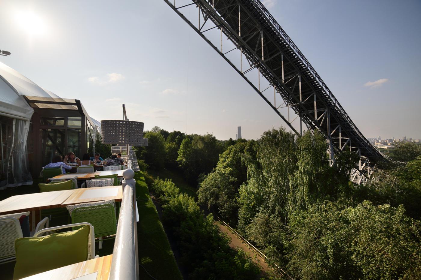 Панорамный Ресторан Трамплин на Воробьевых Горах фото 52