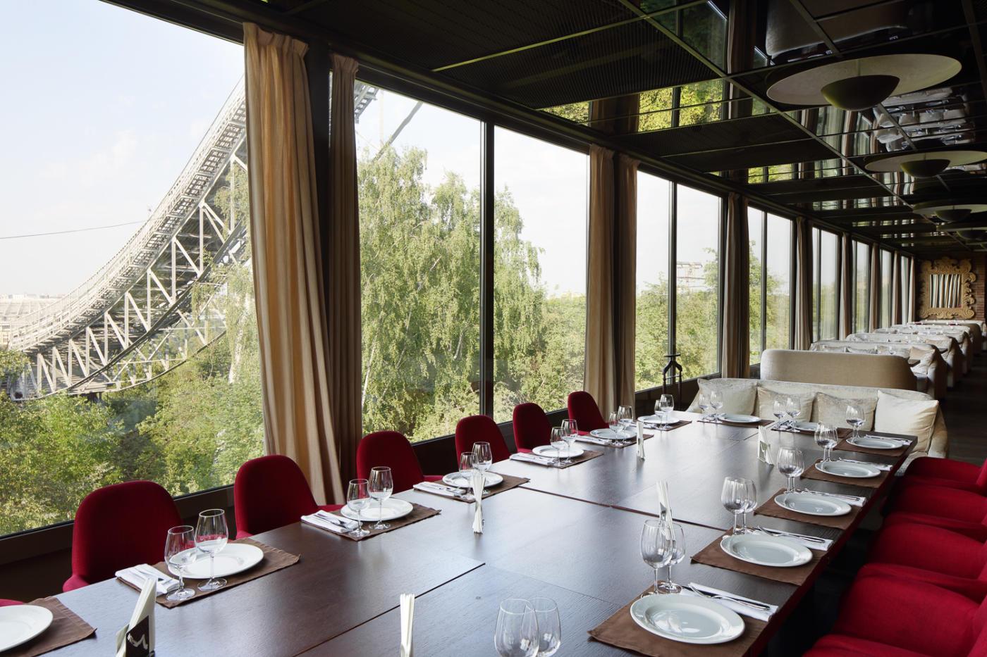 Панорамный Ресторан Трамплин на Воробьевых Горах фото 54