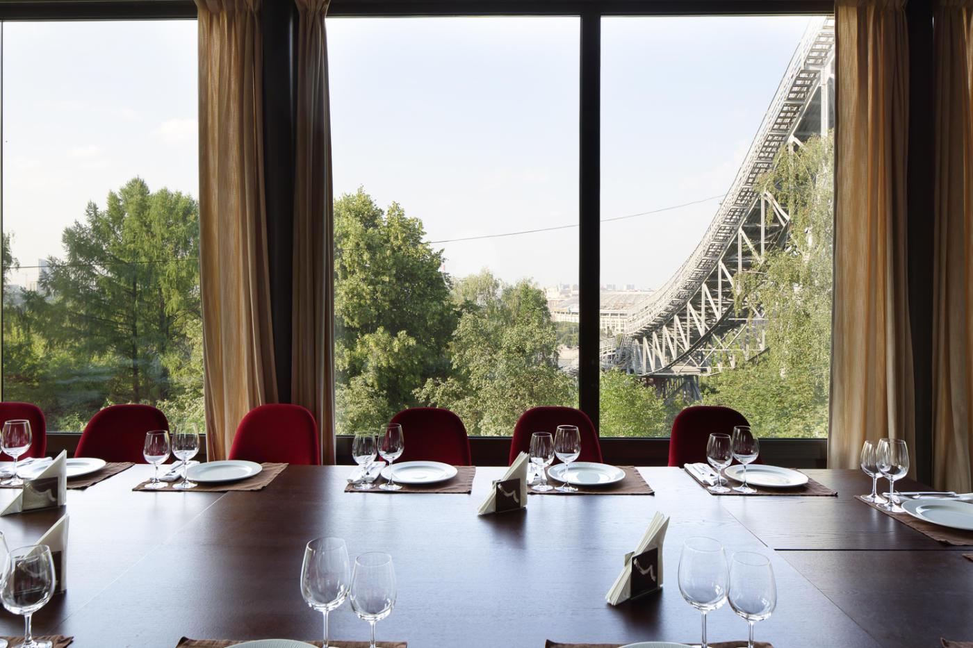 Панорамный Ресторан Трамплин на Воробьевых Горах фото 55