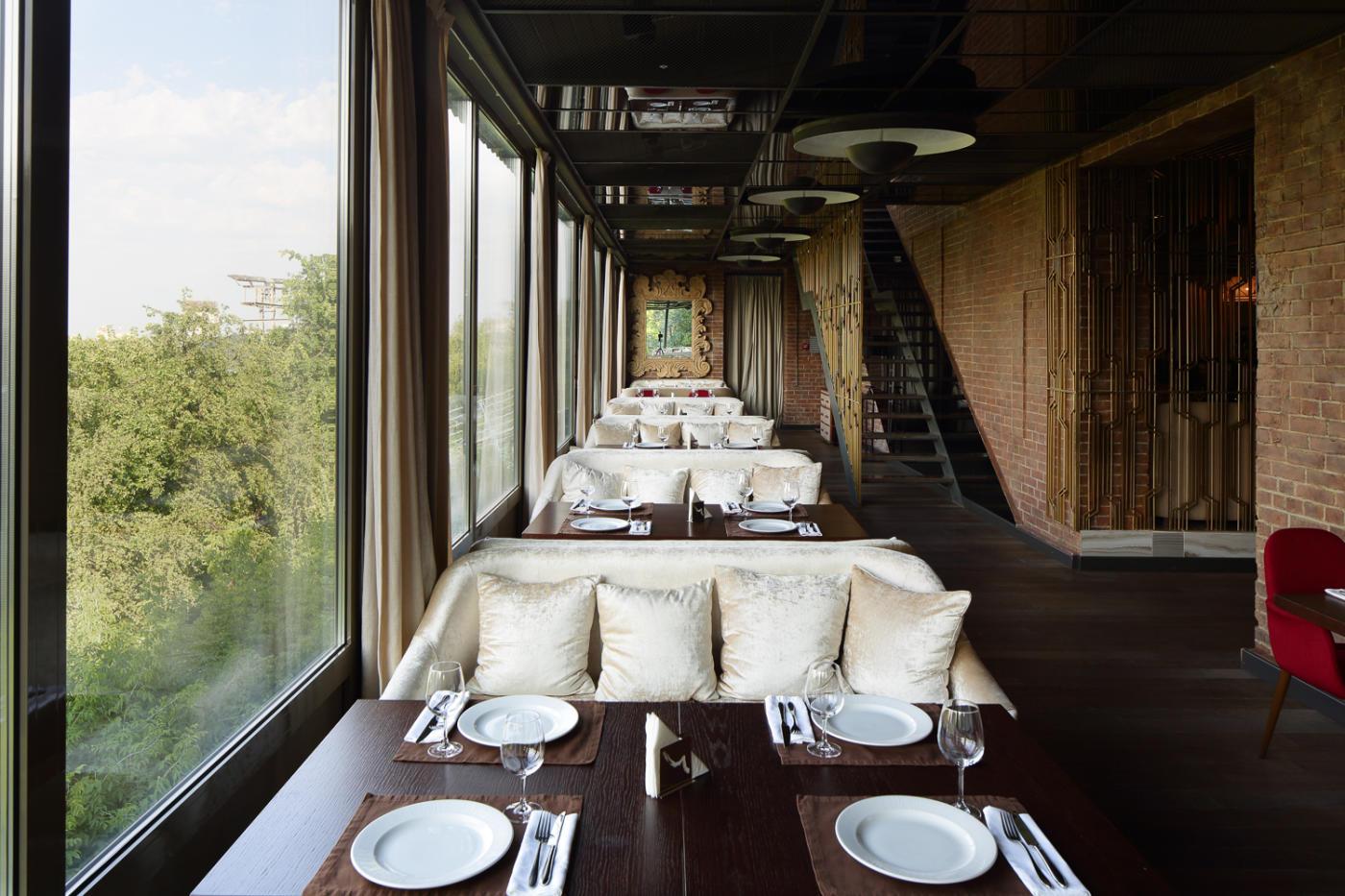 Панорамный Ресторан Трамплин на Воробьевых Горах фото 56