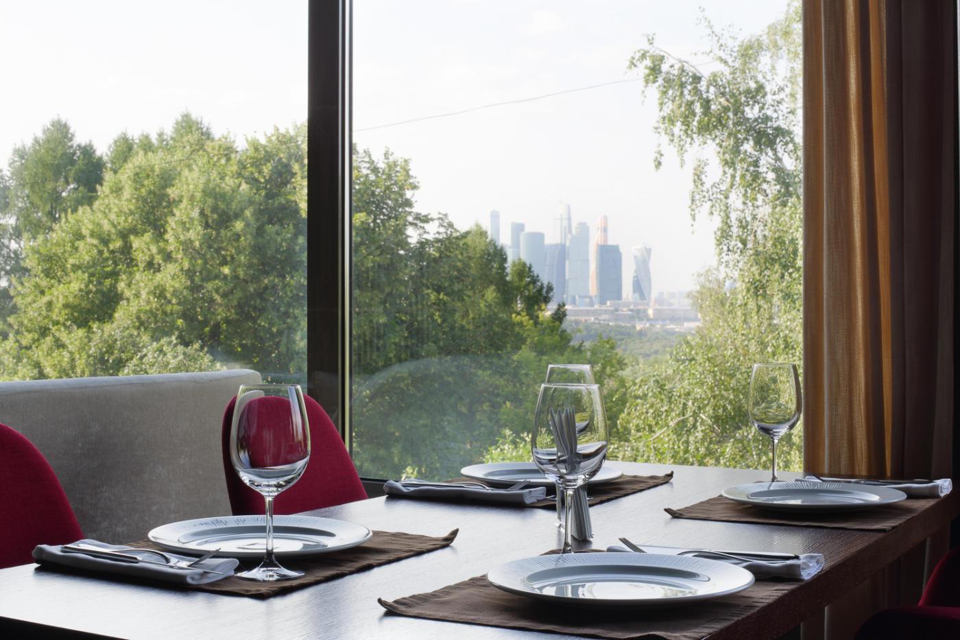 Панорамный Ресторан Трамплин на Воробьевых Горах фото 58