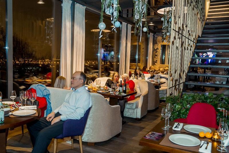 Панорамный Ресторан Трамплин на Воробьевых Горах фото 87