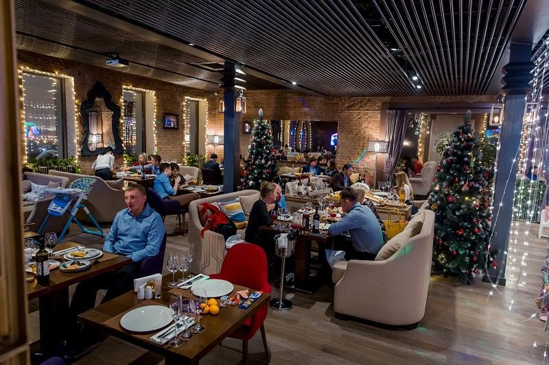 Панорамный Ресторан Трамплин на Воробьевых Горах фото 88
