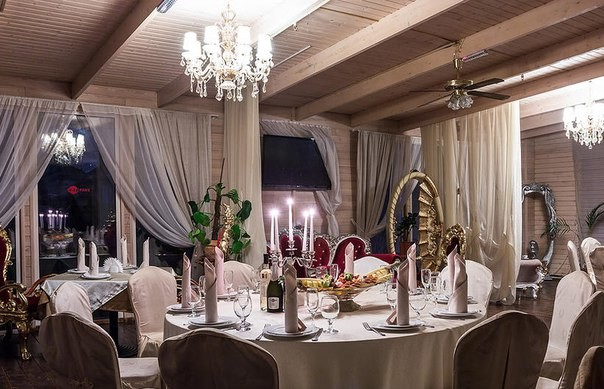 Ресторан в гостинице Внуково-Картмазово фото 5