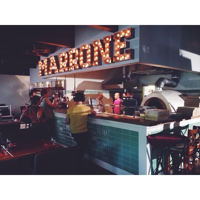 �������� Marrone Pizza & Grill ���� 8