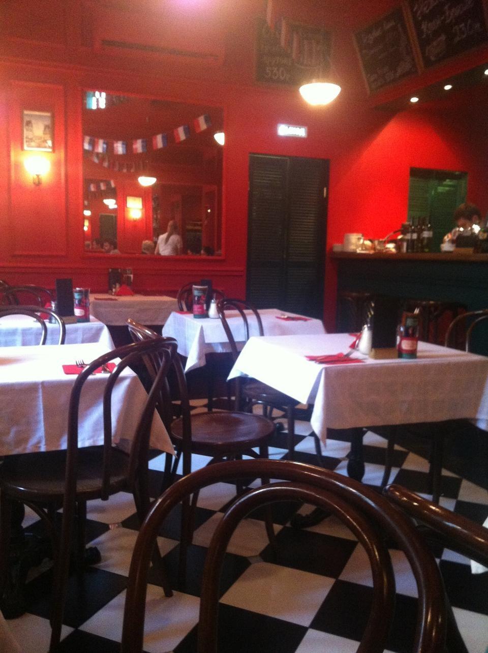 Французское Кафе Жан-Жак на Маросейке (Китай Город / Покровка) фото 8