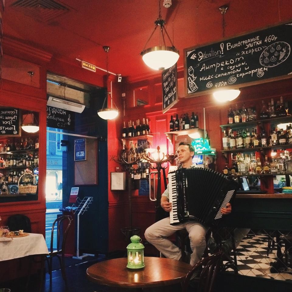 Французское Кафе Жан-Жак на Маросейке (Китай Город / Покровка) фото 7