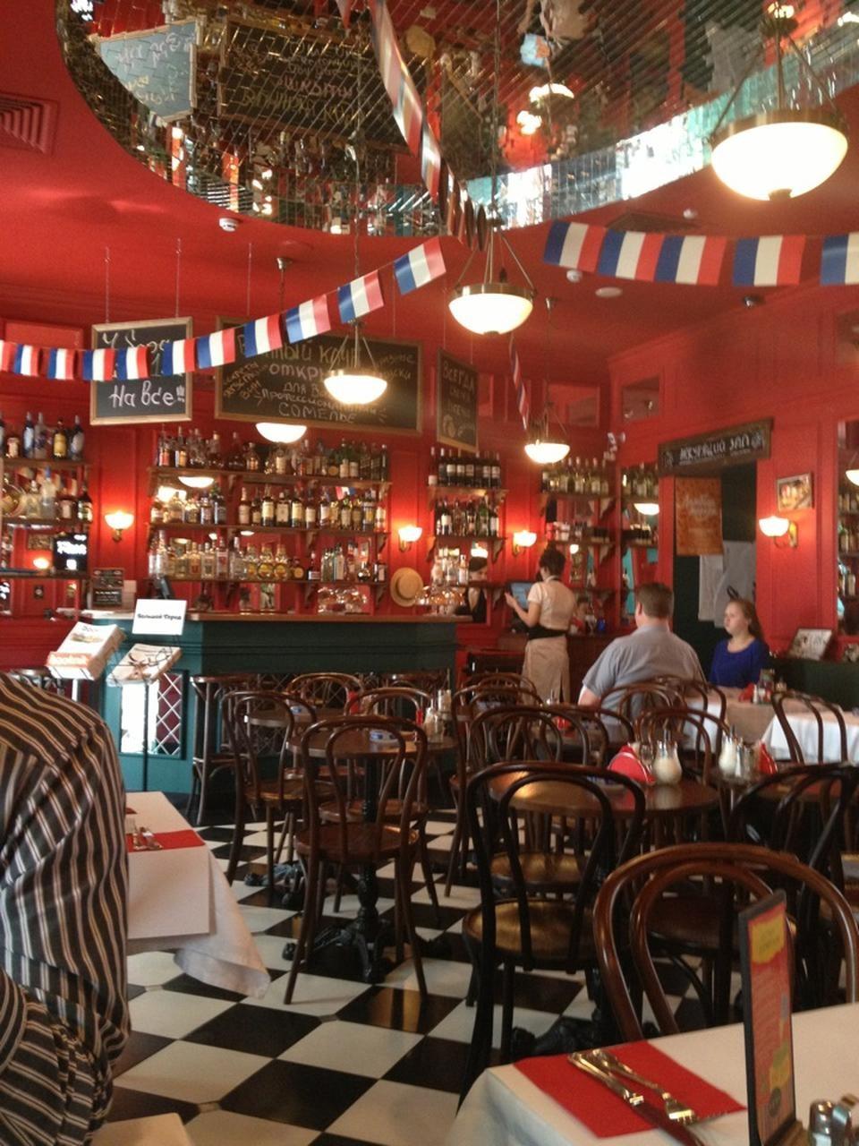 Французское Кафе Жан-Жак на Маросейке (Китай Город / Покровка) фото 5