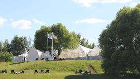 Банкетная площадка Шатер Белый Парус Пироговское Водохранилище (White Sail) фото 5