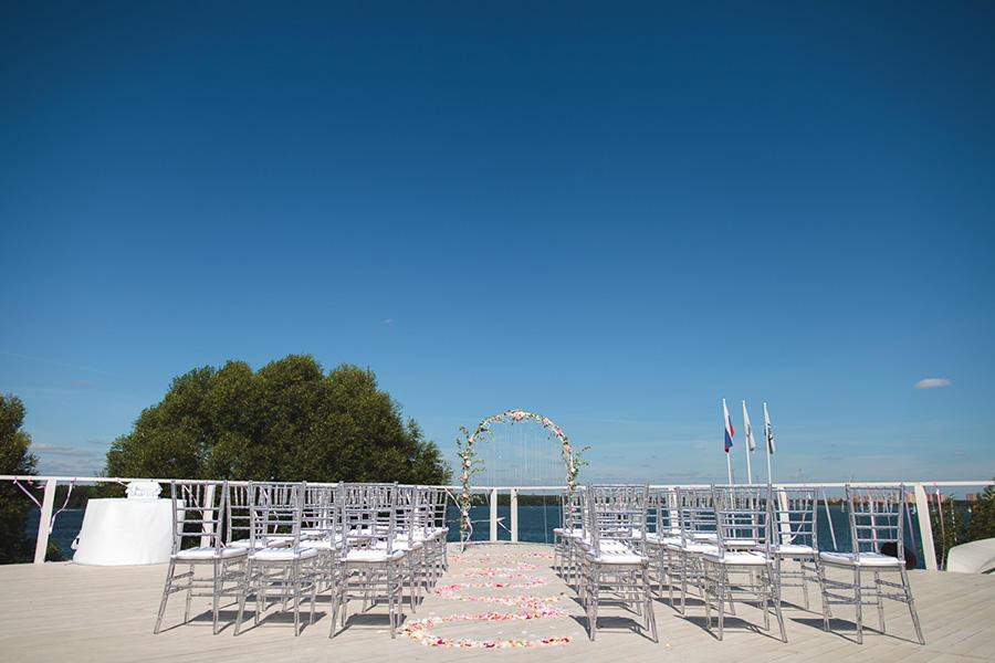 Банкетная площадка Шатер Белый Парус Пироговское Водохранилище (White Sail) фото 1