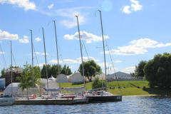 Банкетная площадка Шатер Белый Парус Пироговское Водохранилище (White Sail) фото 12