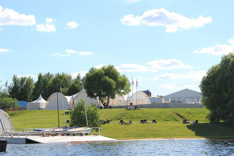 Банкетная площадка Шатер Белый Парус Пироговское Водохранилище (White Sail) фото 13