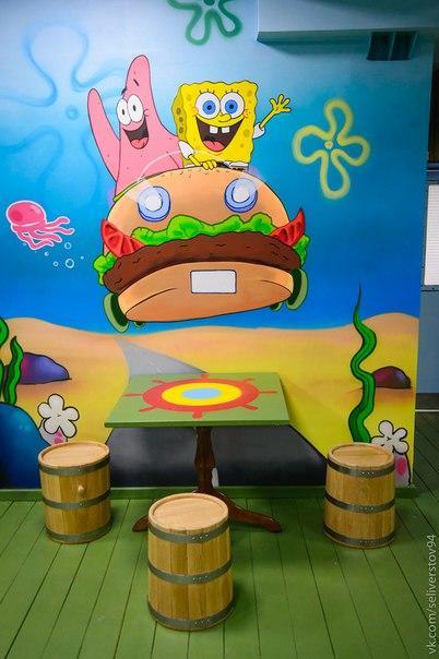 Кафе Krusty Krab фото 7