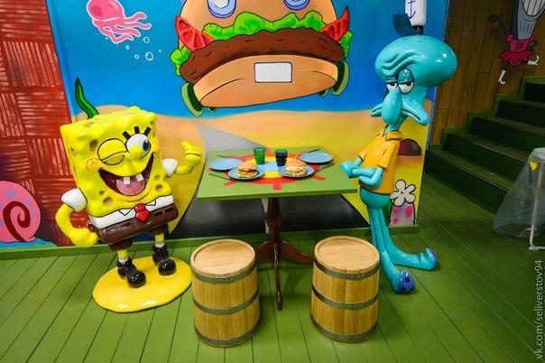 Кафе Krusty Krab фото 1