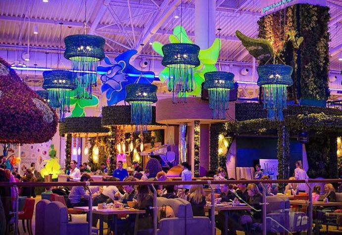 Ресторан в ТЦ Monster Hills (МонстерХиллс) фото