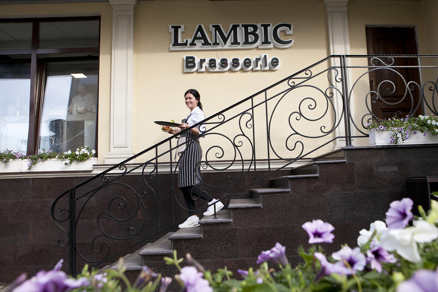 Бельгийский Ресторан Ламбик на Парк Победы (Брассерия Lambic) фото 31