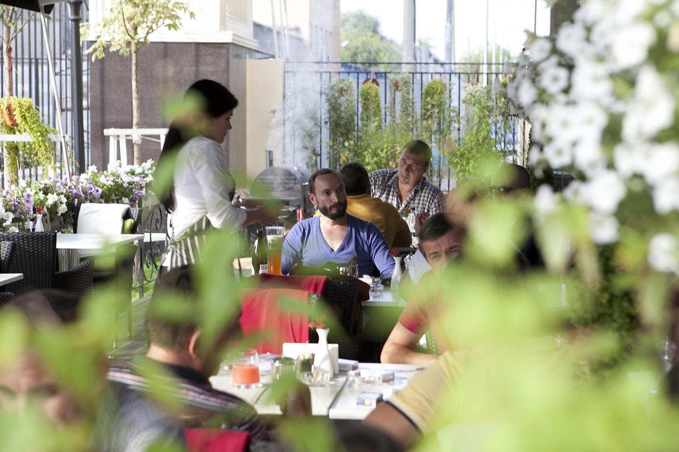 Бельгийский Ресторан Ламбик на Парк Победы (Брассерия Lambic) фото 30