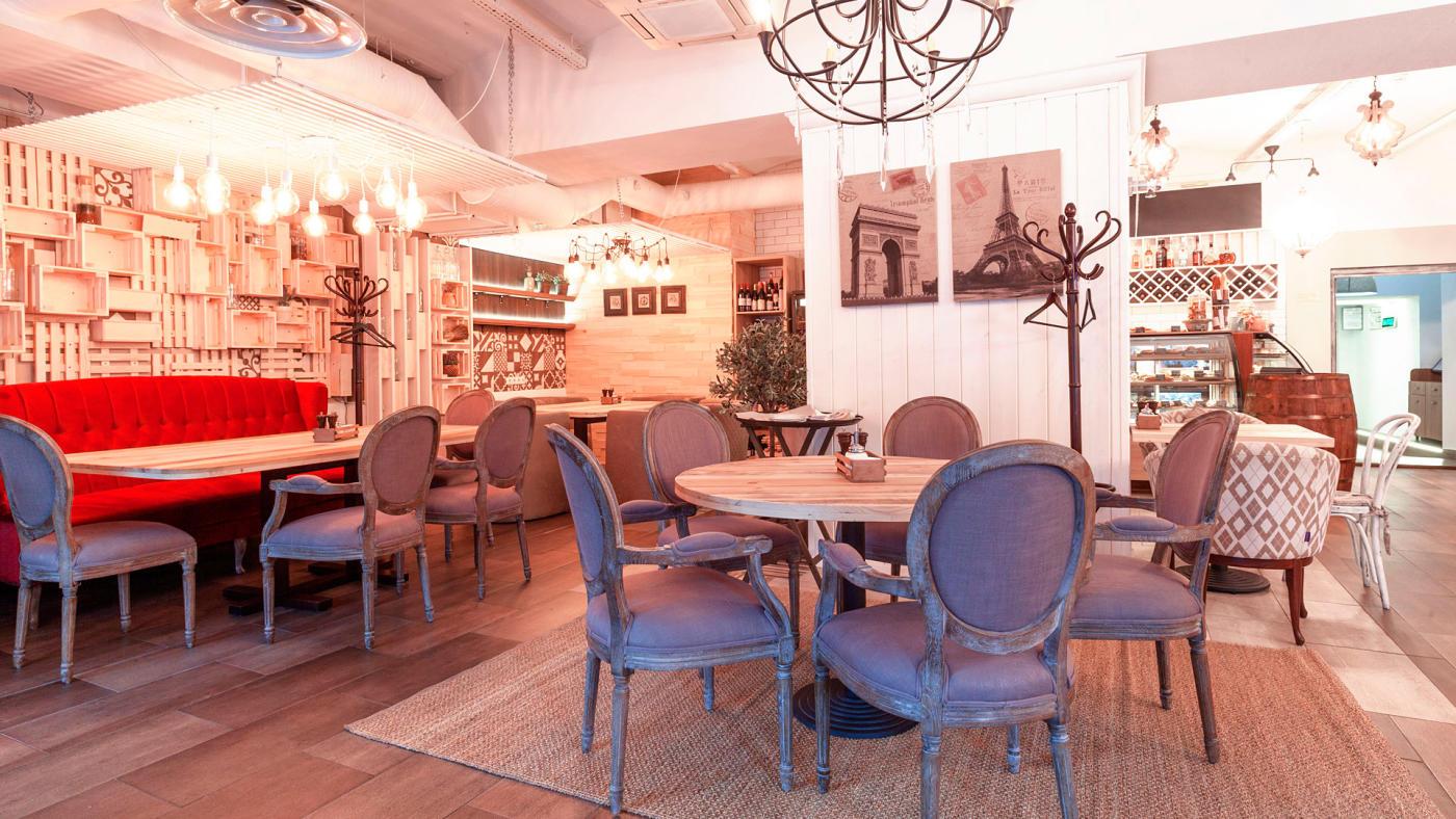 Кафе Пироги Вино и Гусь на Цветном Бульваре фото