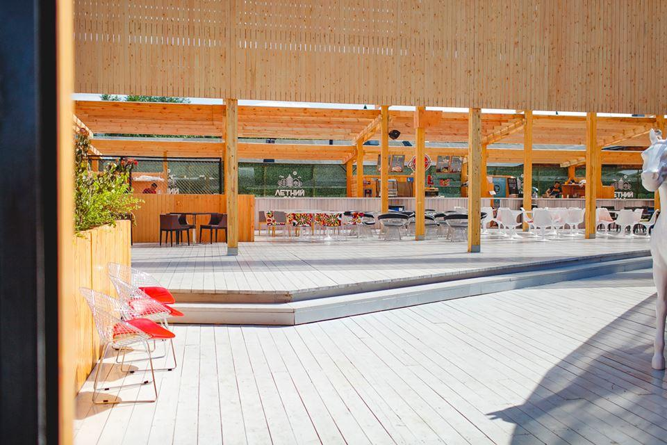 Панорамная веранда Летний Сад на Кутузовском проспекте фото 11