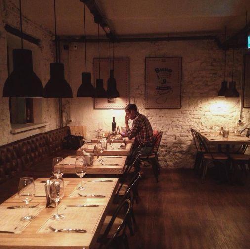 Ресторан Хлеб и Вино на Большой Никитской фото 17