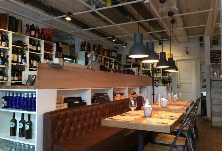 Ресторан Хлеб и Вино на Большой Никитской фото