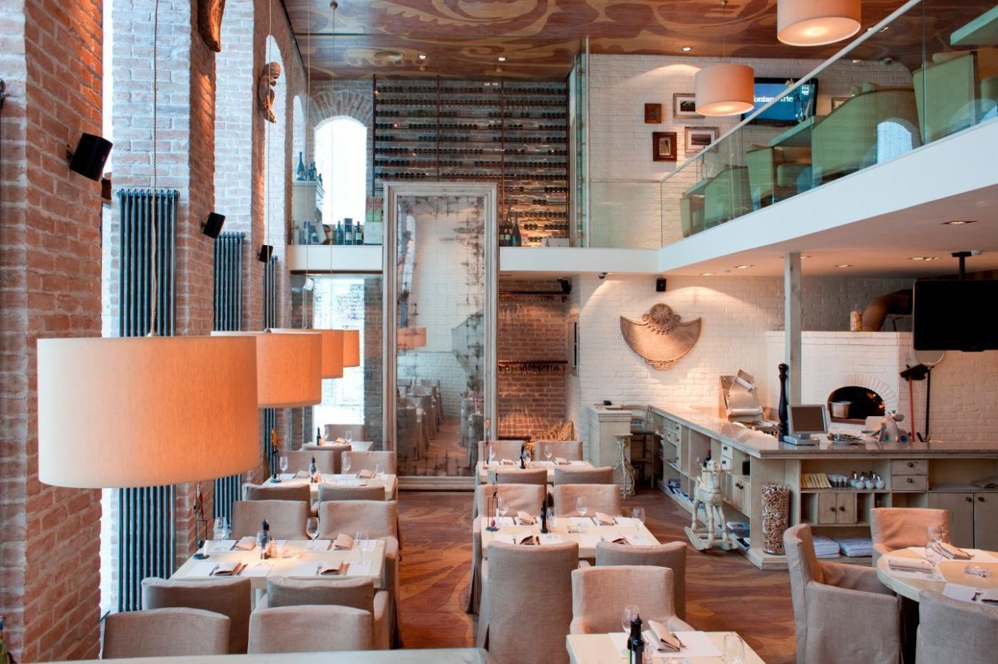 Ресторан Бокончино на Новослободской (Bocconcino - Менделеевская) фото