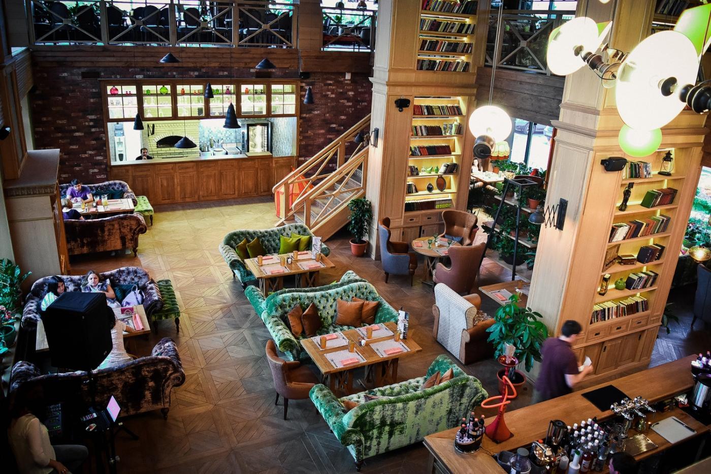 Кафе Библиотека в Новопеределкино фото 2
