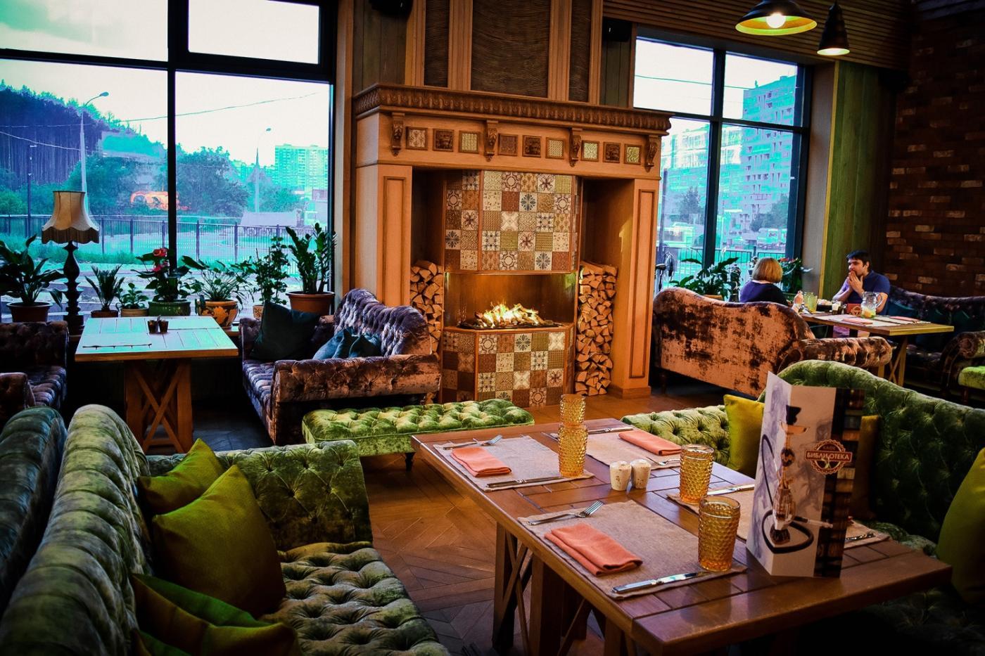 Кафе Библиотека в Новопеределкино фото 3
