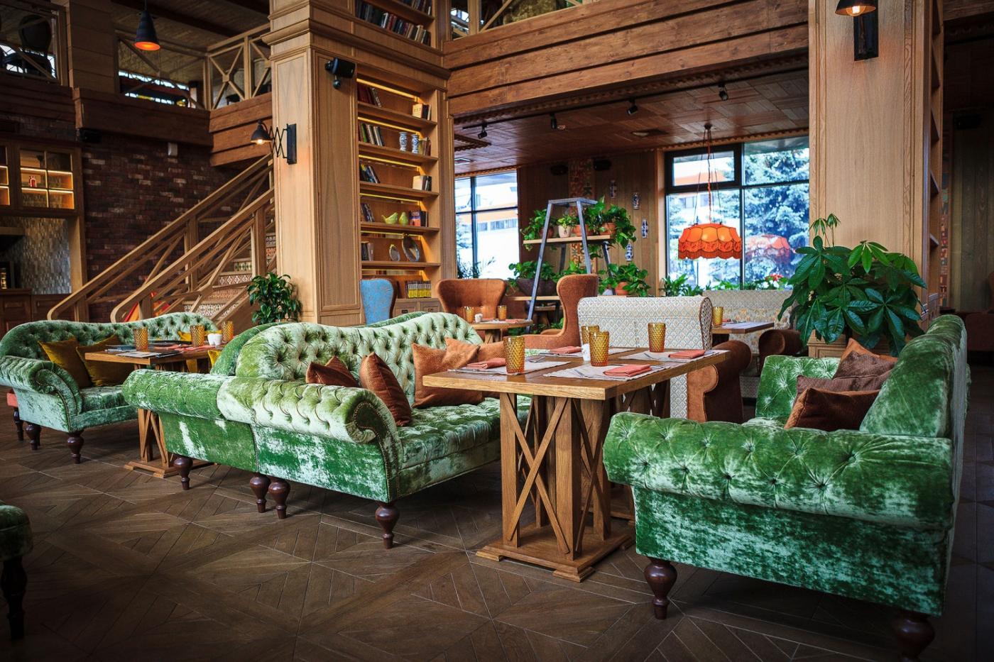 Кафе Библиотека в Новопеределкино фото 7